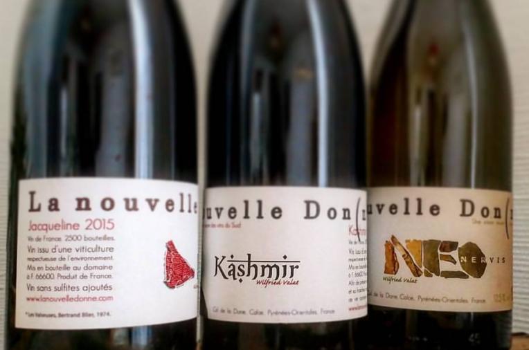 La Nouvelle Donne vin Wilfried Vallat