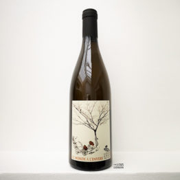 Le monde à l'envers 2018 - vin blanc - Les Déplaude de Tartaras