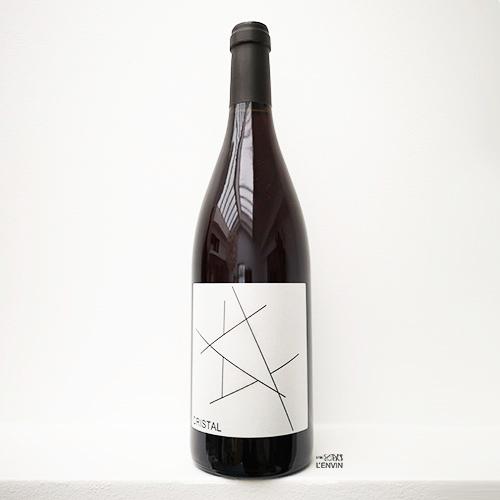 Cristal 2019 de nada vandal wine un vin blanc mais rouge