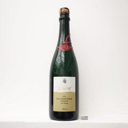 vin effervescent en biodynamie reiler mullay hofberg de riesling sec zero dosage 2016 du domaine melsheimer en allemagne l'envin agent paris