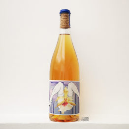 bouteille de vin orange mille plateaux produit par phase 2 le collectif anonyme dans le roussillon et distribué par l'envin sur paris ile de france loiret vin nature vin naturel