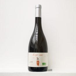 bouteille de vin blanc nature ergo sum 2018 à base de melon de bourgogne de bedouet vigneron dans le muscadet, et distribué par l'envin sur paris ile de france loiret