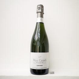 vin effervescent corpinnat brut nature du domaine mas candi de catalogne espagne