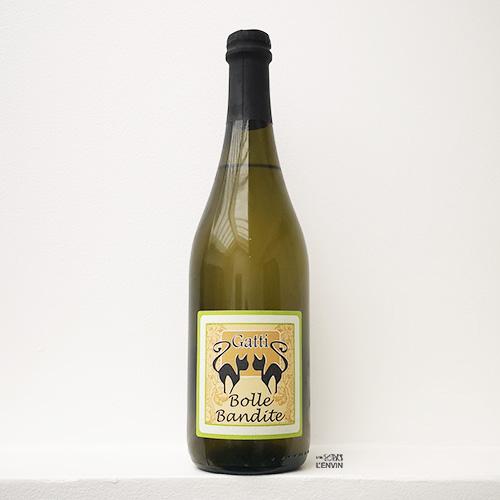 bouteille de pet-nat blanc bolle bandite de carolina gatti en venetie en italie distribué par l'agent l'envin à paris ile de france loiret vin nature vin naturel