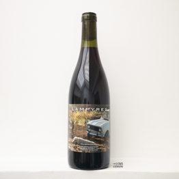 Bouteille du vin rouge calentu 2020 à base de grenache du domaine des lampyres du vigneron François Xavier Dauré dans le Roussillon et distribué par l'agence l'envin sur paris ile de France loiret export