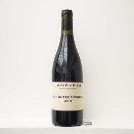 Bouteille du vin rouge une autre histoire 2018 à base de carignan du domaine des lampyres du vigneron François Xavier Dauré dans le Roussillon et distribué par l'agence l'envin sur paris ile de France loiret export