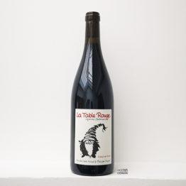 vin rouge bio cabernet franc 2018 la table rouge agent l'envin