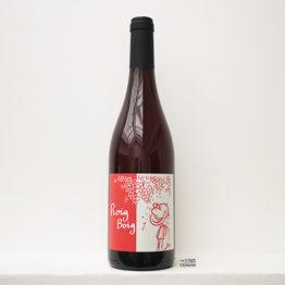 bouteille de vin rosé bio roig boig du celler la salada de catalogne en espagne distribué par l'envin, agent et grossiste à paris, en ile de france et loiret