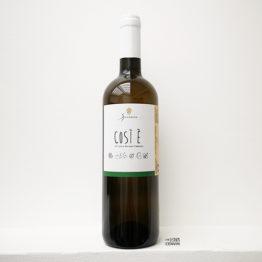 Bouteille de vin blanc bio Così È Bianco de l'Azienda Agricola Speranza distribué par l'envin agent sur paris en vin bio ile de france loiret