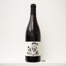 bouteille de vin rouge en biodynamie pinpinea 2018 de carolina gatti en venetie en italie distribué par l'agent l'envin à paris ile de france loiret vin nature vin naturel