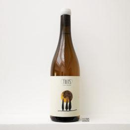 bouteille de vin parcellaire Brisat Garnatxa Blanca 2019 de Celler Tuets en catalogne en espagne distribué par l'envin, agent et grossiste de vin bio et naturel à paris, en ile de france et loiret