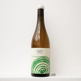 bouteille de vin blanc Tot 2019 de Celler Tuets en catalogne en espagne distribué par l'envin, agent et grossiste de vin bio et naturel à paris, en ile de france et loiret