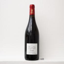 Bouteille de vin rouge Cassiopée 2019, du vigneron philippe richy du domaine en biodynamie stella nova en Languedoc, distribué par l'envin agent sur paris ile de france loiret