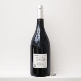 Bouteille de vin rouge Polaris 2019, du vigneron philippe richy du domaine en biodynamie stella nova en Languedoc, distribué par l'envin agent sur paris ile de france loiret lenvin