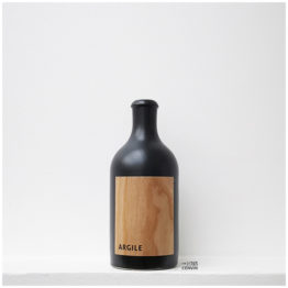 bouteille de argile 2019, vin blanc sec naturel du Château Lafitte par L'envin agent et grossiste en vin bio et nature sur paris ile-de-france loiret