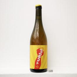 bouteille de vin rouge bio Turi Bianco 2020 de azienda agricola salvatore marino en sicile en italie et distribué par l'envin agent en vins natures à paris ile de france loiret