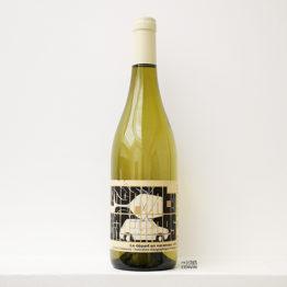 bouteille de Départ en vacances blanc 2020, un vin biologique du vigneron Carlos Badia de La Cave aux fioles dans le Roussillon et distribué par l'agence L'envin grossite en vins bio et nature sur paris ile de france loiret export