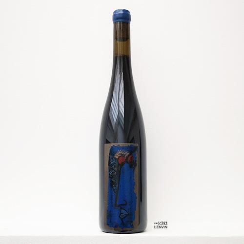 bouteille de vin rouge bio de cabernet franc 2020 du domaine la table rouge en loire représenté par l'envin agent sur paris ile de france et loiret