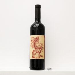 bouteille de vin rouge bio Drogone 2016 de cantina giardino un domaine situé en Campanie en italie et représenté par l'agence l'envin distributeur grossiste agent sur paris ile de france loiret