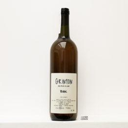 bouteille de vin blanc de macération bio Grinton de azienda ombretta agricola un domaine situé en Vénétie en italie et représenté par l'agence l'envin distributeur grossiste agent sur paris ile de france loiret