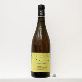 bouteille de vin blanc bio vino bianco 2018 de Podere Concori un domaine situé en Toscane en italie et représenté par l'agence l'envin distributeur grossiste agent sur paris ile de france loiret
